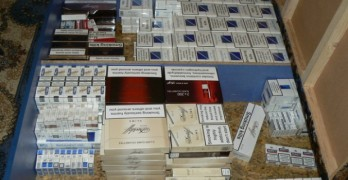700 кутии безакцизни цигари иззеха криминалисти