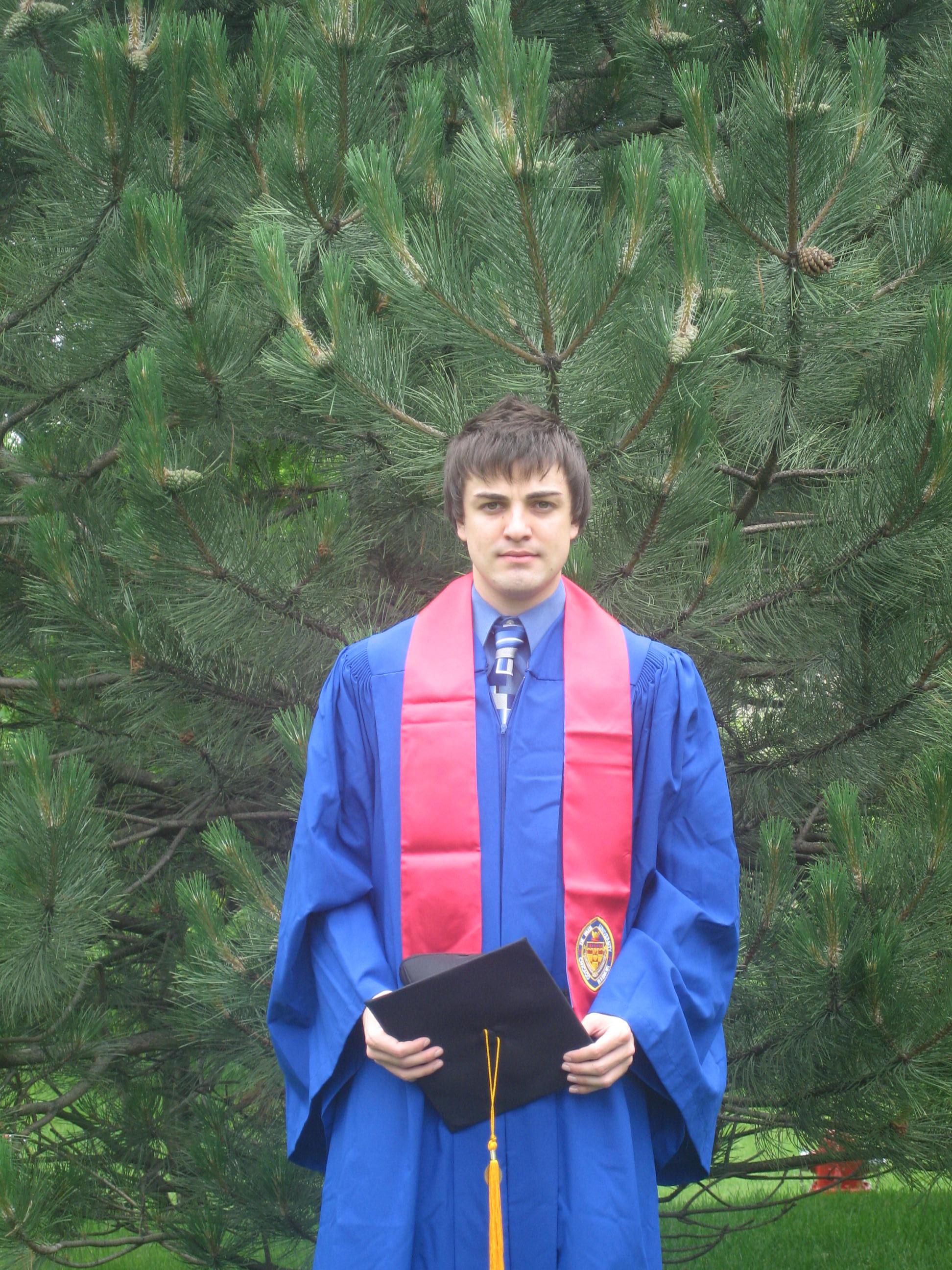 Светлин Радев завърши Чикагския университет с отличие и започна в Кралската шотландска банка