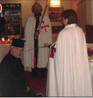 Отец Константин стана тамплиер