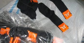 """17 хиляди чорапи и ръкавици спипаха на """"Капитан Андреево"""""""