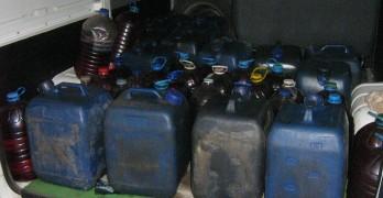 Спипаха 700 литра червена нафта в автосервиз