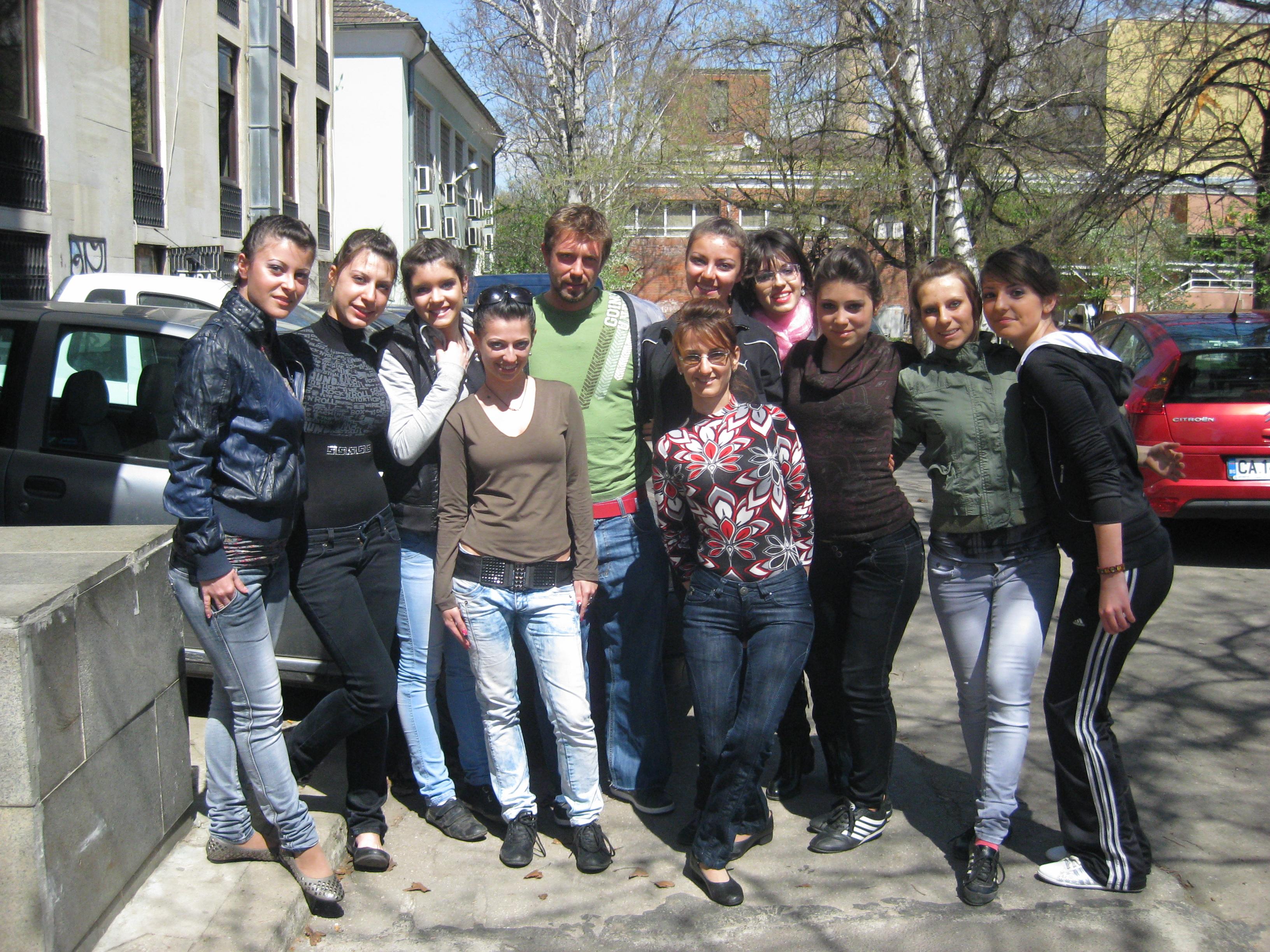 Момичетата от школата с Калин Врачански