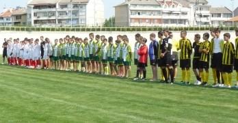 С детски турнир започнаха честванията за 90-годишнината на футболния клуб