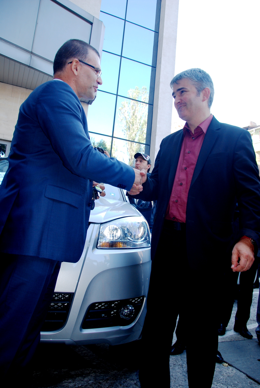 Оборудваха митниците в страната с 30 нови автомобили