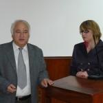 Христо Георчев предаде щафетата в ръцете на Елена Тодорова