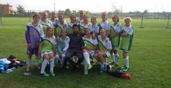 Женският футболен отбор с две победи още на първото си участие в турнир