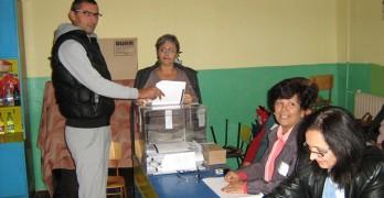 52 на сто избирателна активност