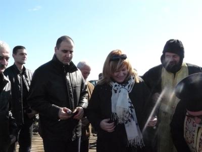 Цветанов по време на ритуала