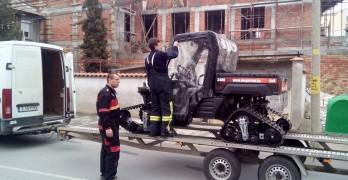 Свиленградската пожарна прати високопроходима машина на бедстващ Ивайловград