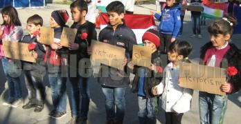 Кюрди преминаха в мирно шествие през центъра на Свиленград
