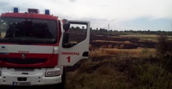 Пожарната с предупреждение към стопаните: Не палете стърнища!