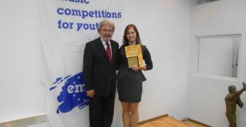 Здравка Василева с Гран При от международен конкурс