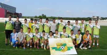 Децата приключиха футболния сезон с награждаване и демонстрационни мачове