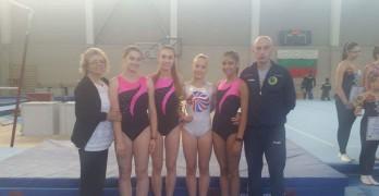 Гимнастичките бронзови от държавното първенство