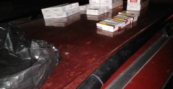 Хванаха цигари на гръцкото