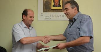 Цацаров награди районния прокурор на Свиленград Антон Стоянов
