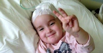 #жороспаси помага на двегодишната Иванина
