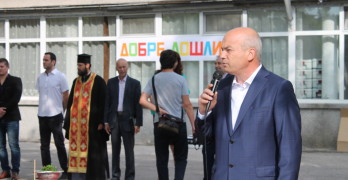 Валентин Ангелов откри учебната година в спортното