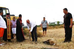Кметът Георги  Манолов направи първата копка на строежа