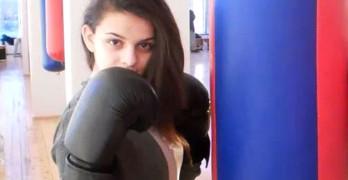 Горяна Стоева е европейски вицешампион по бокс