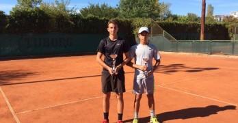 Денислав Проданов е двоен шампион от държавния турнир по тенис