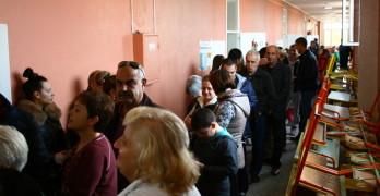 Активността в Свиленград е по-висока в сравнение с първия тур в избора на президент