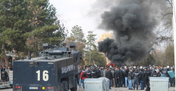 Започна разследване за безредиците в центъра в Харманли