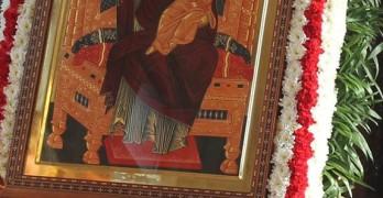 Митрополит Антоний освети ремонтирания църковен храм на Гарата