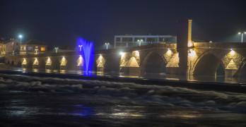 Марица в Свиленград с фонтан