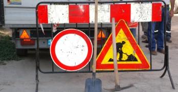 """Поради полагане на маркировка се затваря площад """"14 март"""""""