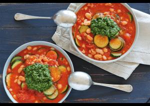 Една от най-известните исталиански супи е Минестроне.