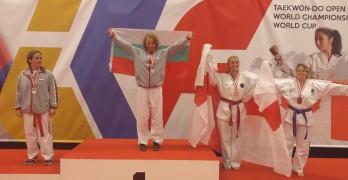 Свиленградчанка с два златни медала от Световното по таекуондо в  Холандия