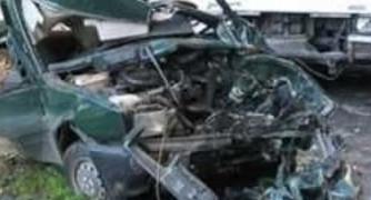 Челен удар в трактор троши крака и таз до опасност за живота