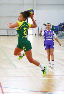 Райна Георгиева в атака