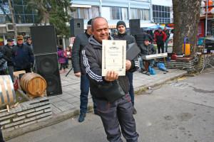 Петър Сарандиев победи при розето