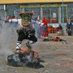 Край Свиленград кукери прогониха лошите сили от село Мезек