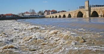 Марица покачи нивото край Свиленград