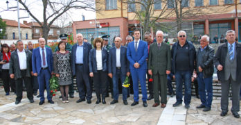 Стотици почетоха паметта на тримата граничари Асен Илиев, Стоил Косовски и Георги Стоименов