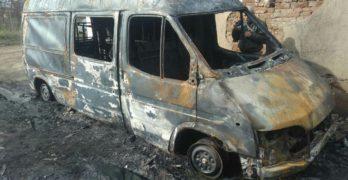 Бус и две постройки изгоряха в Пъстрогор (снимки)