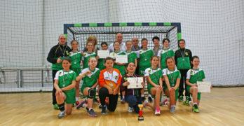 11-годишните хандбалистки на Свиленград станаха втори в България