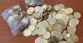 Спипаха златни монети за над 140 000 лева