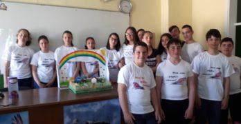 Беронци стартираха кампания за разделно събиране на отпадъци в училище
