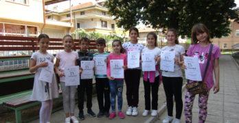"""Ученици от I ОУ """" Иван Вазов"""" показаха граматически умения в празничните дни, посветени на своя патрон"""