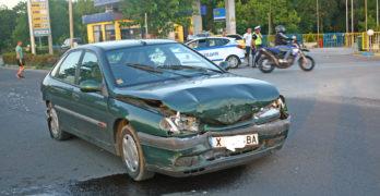 Верижна катастрофа до метан станцията в Свиленград