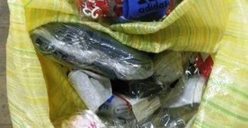 """Близо 45 000 чифта чорапи и 3000 ключодържатели с логото на известни марки задържаха на """"Капитан Андреево"""""""