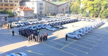 ОДМВР Хасково връчи 53 нови служебни автомобила, 7 от тях на Свиленград и Любимец