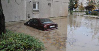 Наводненият Одрин днес, видян през обектива на Мурат Саваш