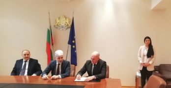 Кметът Георги Манолов и министър Нено Димов подписаха договор за финансиране на проект за превенция на наводнения на стойност 1 000 000 лева