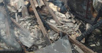Свиленградчанин  запалил имоти