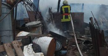 15 прасета загинаха по време на пожар в Свиленград